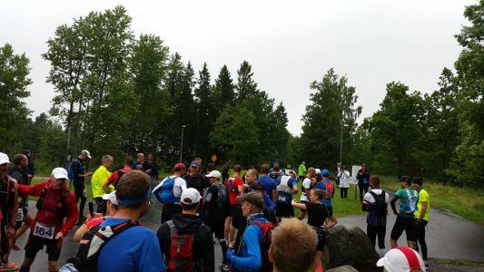Billingen Trail Marathon Starten