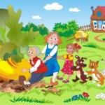 """Truyện đọc cho bé – Truyện """"Nhổ củ cải"""""""