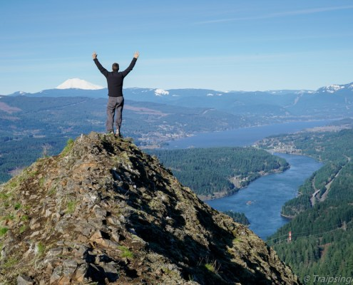 Columbia Gorge Munra Point View Hike