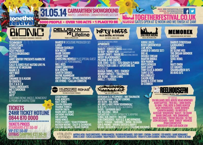 Together Festival Line-up