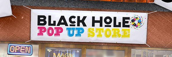 Black Hole Recordings Pop Up Store