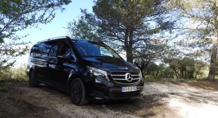 Excursions privées dans les Alpilles en Mercedes Classe V