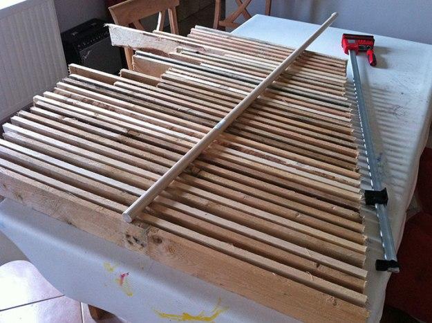 Un sapin de no l en bois de palette - Sapin de noel en bois de palette ...