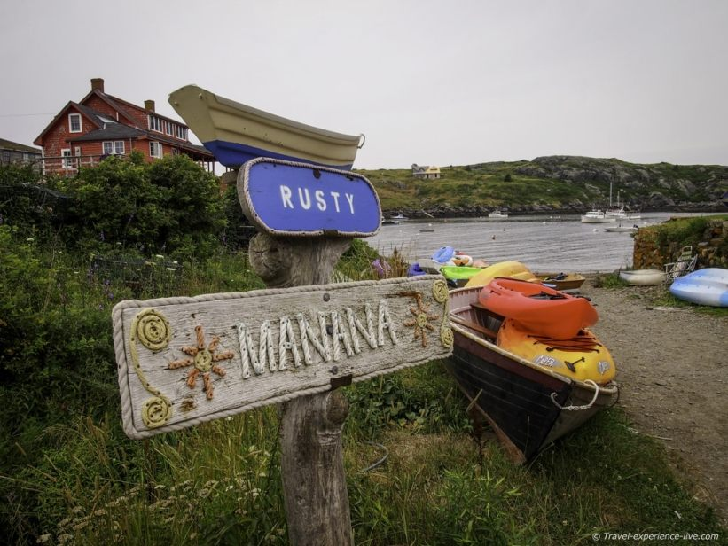 Camping on the maine coast monhegan island for Fishing campsites near me