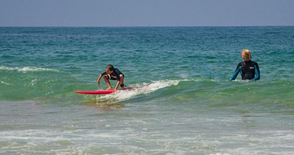 Surfcamp Frankreich - Familien Surfcamp - Surfkurs für Kinder