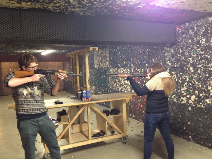 I Joined the Budapest Shooting Club
