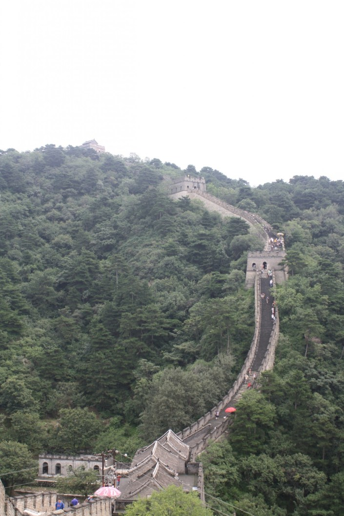 The Ruins of the Great Wall of China