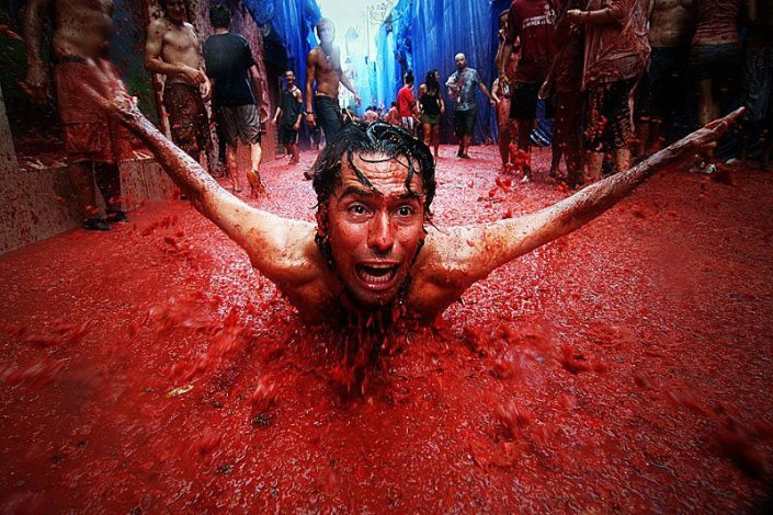 Surviving La Tomatina