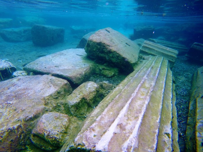 I Went Swimming In The Ancient Ruins of Hierapolis