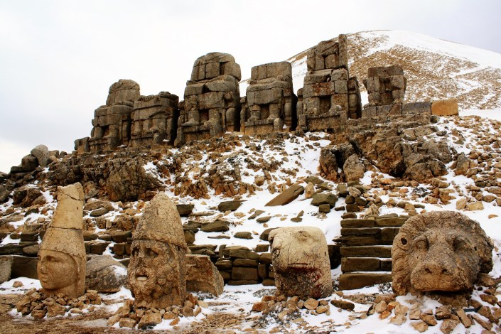 The Giant Heads Of Mount Nemrut
