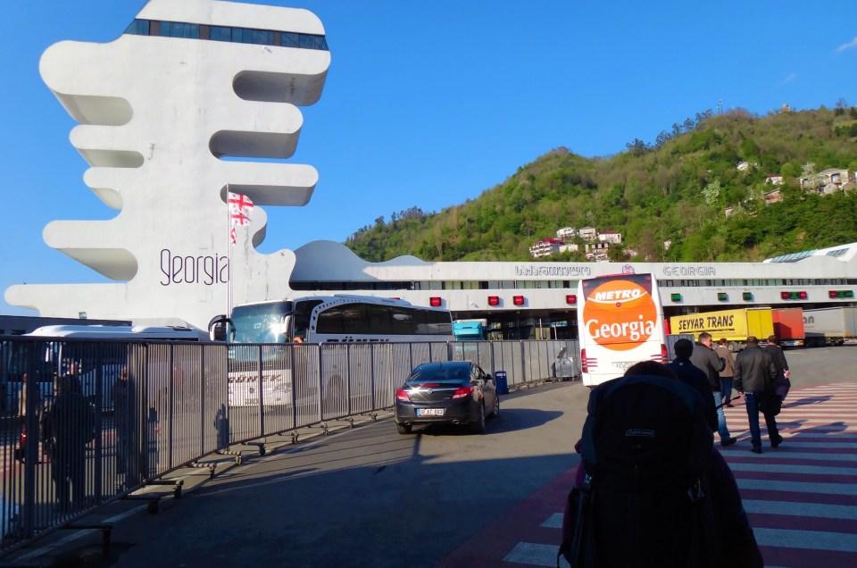Turkey To Georgia: Crossing The Border From Sarpi To Batumi!