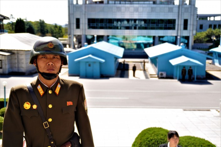 The North Korean Demilitarized Zone