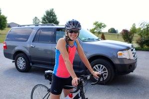 Bikes and trucks