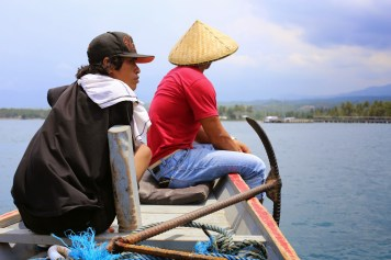 First-class seats on the inter-island express to Gili Air