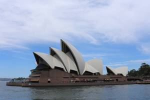 The Opera House offers one of those stunning views which always demand one more photograph. I took rather too many...