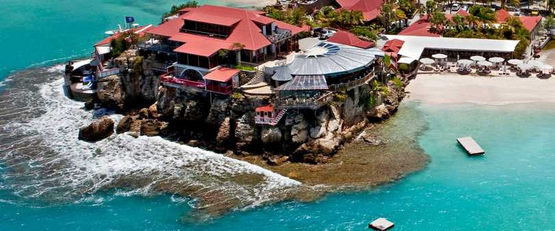 'Eden Rock' in the Caribbean Islands