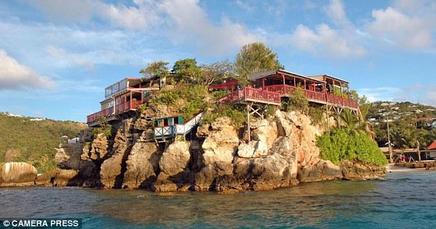Eden Rock in the Caribbean Islands1
