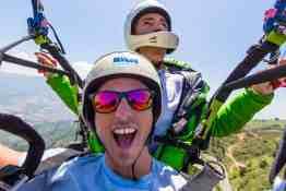 Paragliding Selfie!