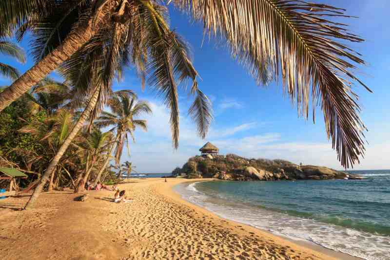 Photo of a Beach in Colombia