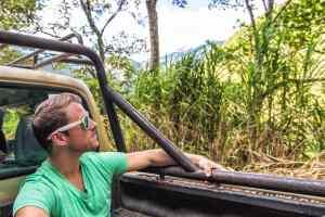 Riding dirty in Baños, Ecuador