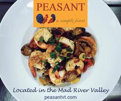 Peasant Vermont Restaurant