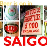 The Beer is on in Saigon
