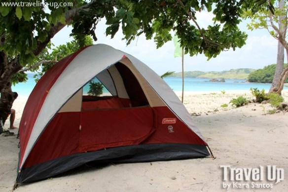 calaguas tent beach