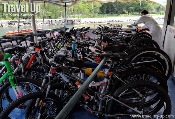 corregidor island philippines bike rack sun cruises ferry