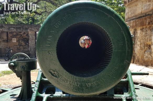 corregidor island philippines biking cannons photobombers