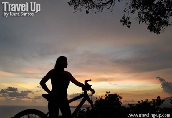 corregidor island philippines biking sunset silhouette 2