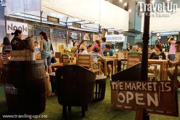 malingap marketplace banchetto sunday market events place