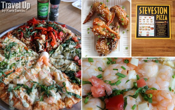 steveston pizza UPtowncenter