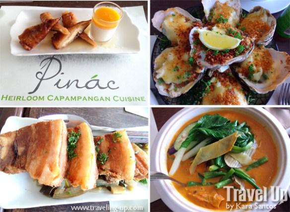 up town center pinac heirloom kapampangan cuisine