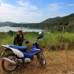 Motorbiking to Calauit Safari Park