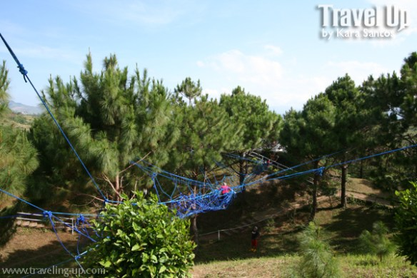 sierra madre hotel & resort rope bridge
