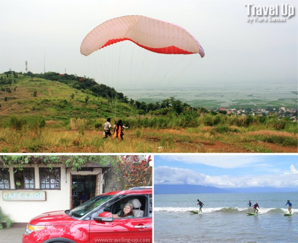 paragliding suv surfing TravelUp