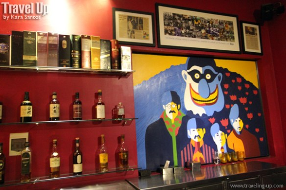 the yellow sub beatles bar cambodia whiskey