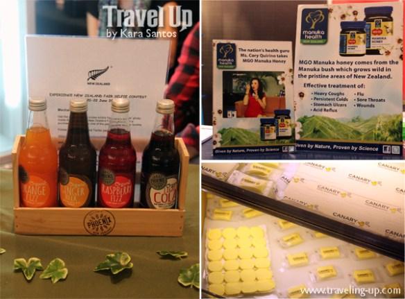 experience nz trade fair products manuka honey cheese drinks