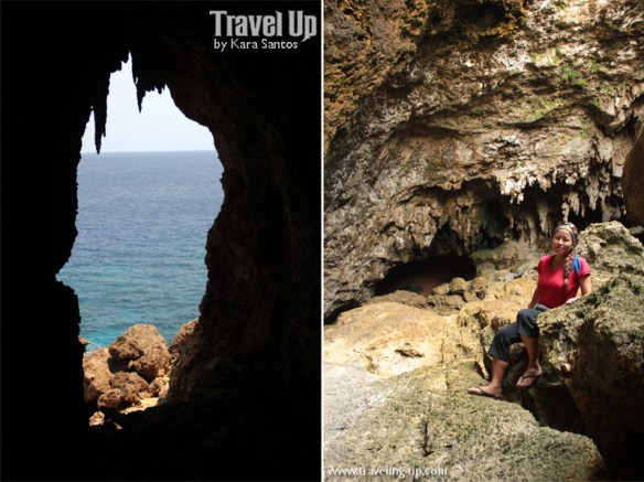 itbayat batanes torongan cave sea view