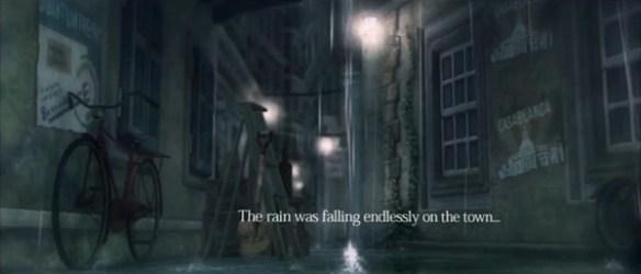 lost in the rain narration