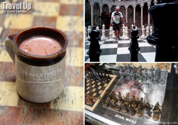 06. Pan de Amerikana Marikina hot choco chess