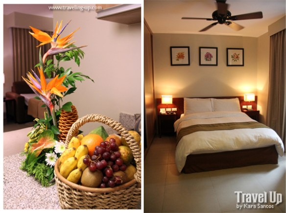 azalea residences baguio room flowers