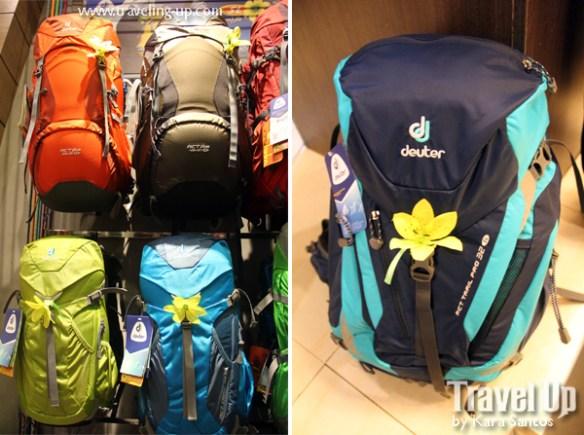 04. deuter backpacks concept store MOA SL line