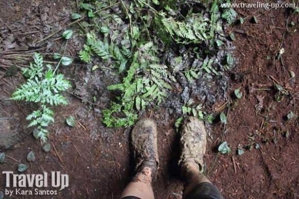 26. calbiga cave samar muddy shoes