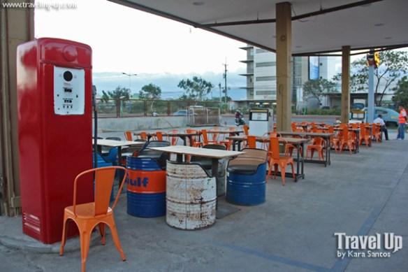 cafe racer cebu philippines gas station