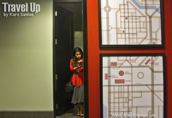 amelie hotel manila map mirror