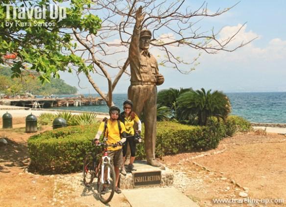 corregidor island philippines mcarthur statue