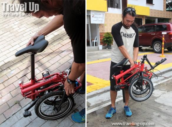 nyfti folding bike compact fold