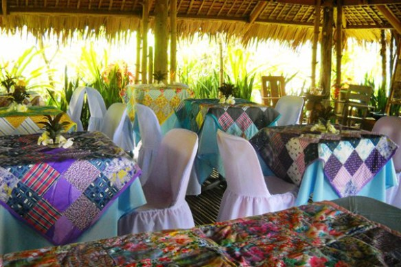 05. la huerta baao camarines sur restaurant tables