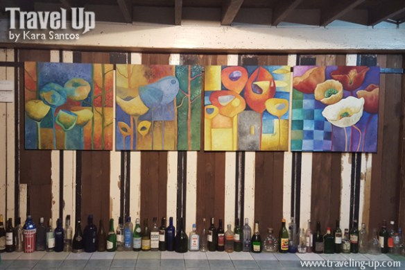 13. cafe des artes baao camarines sur paintings bottles